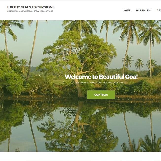 Exotic Goan Excursions